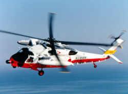 救難ヘリコプターUH-60J